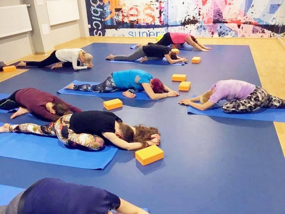 fitness Szczecin joga
